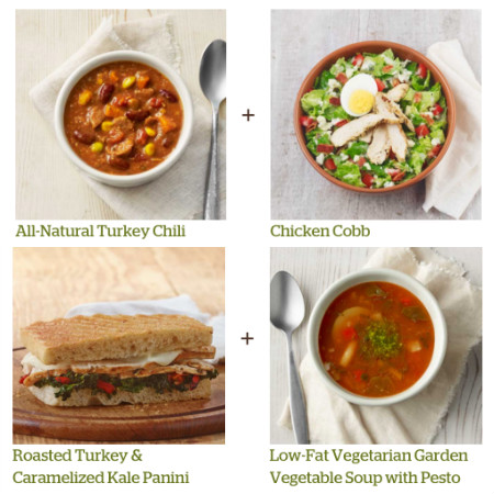 Panera Bread: 6 Meals Under 600 Calories